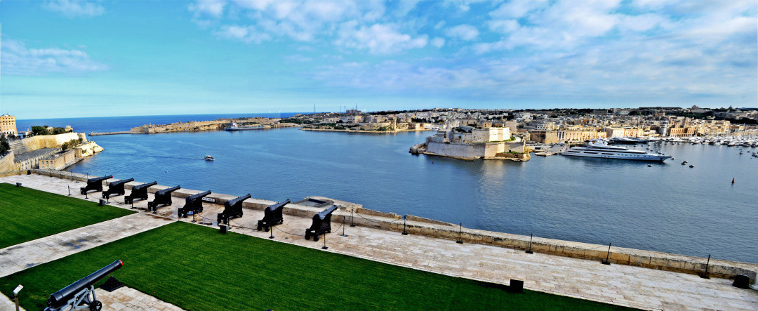 Grand Harbour Panoramic View (2)